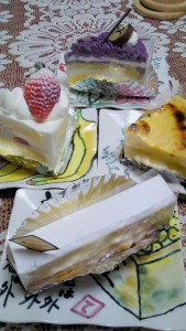 リコッタのケーキ