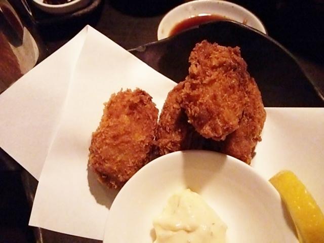 まそほ 京都店 牡蠣フライ
