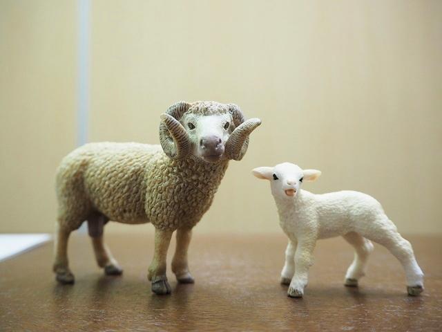 シュライヒ 羊のフィギュア