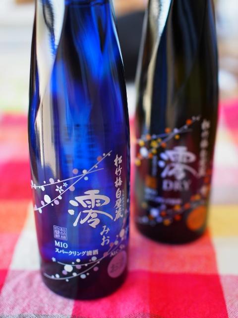 宝酒造・スパークリング清酒「澪(みお)」