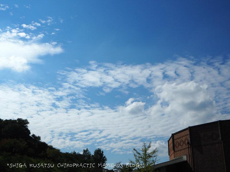 陶芸の森いわし雲