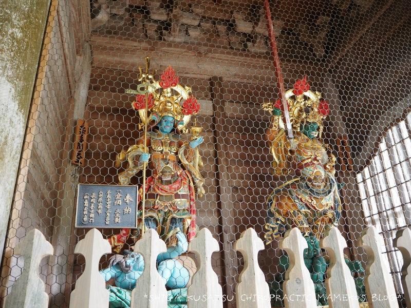 永平寺の山門四天王1
