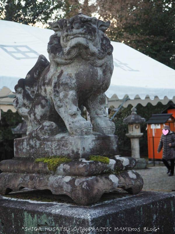 神田神社狛犬吽