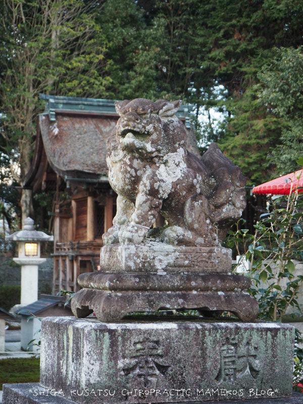 神田神社狛犬阿
