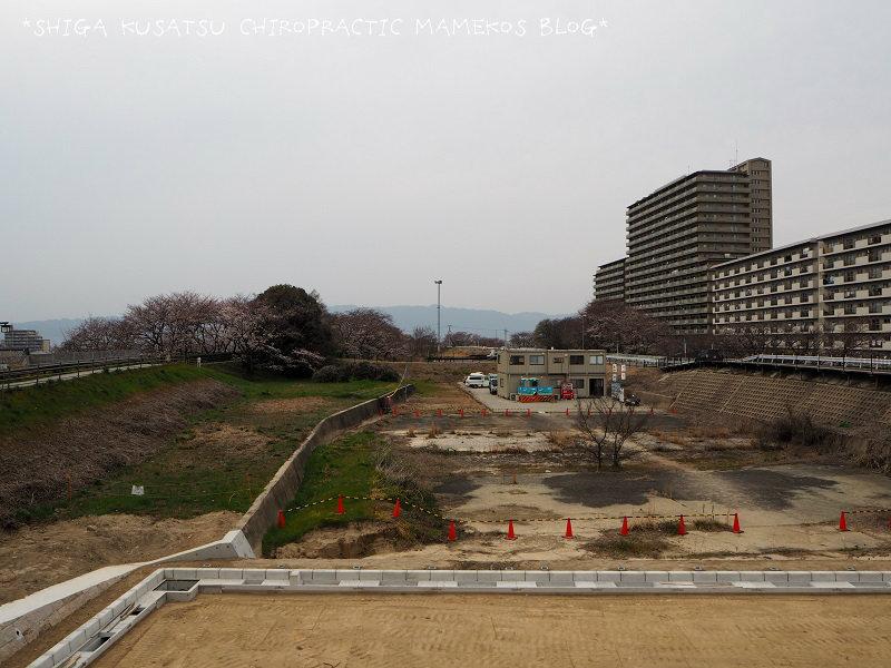 天井川工事中2